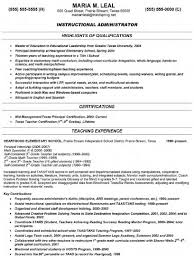 Teacher Resume Objective Sample by Principal Resume Resume For Your Job Application