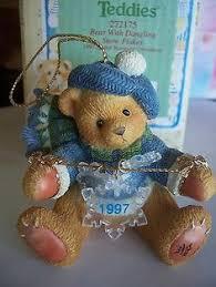 cherished teddies dated ornaments cherished teddies ornamenten