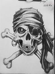 23 pirate skull designs