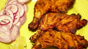 Indian Style - grilled tandoori chicken indian style