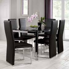 round dining room tables for 6 dinning glass dining room sets for 6 kitchen table leather