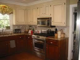 kitchen distressed antique white kitchen cabinets door knobs and