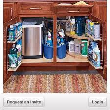 kitchen organization ideas small spaces organizing under the kitchen sink in a small space trash under small