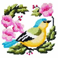 bird4 cross stitch bird machine embroidery design machine