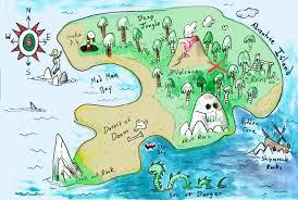 Treasure Island Map It U0027s A Map Sketcharound