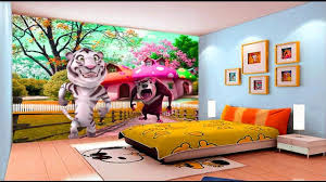 amazing kids room 3d wallpaper ideas childrens bedroom wallpapers
