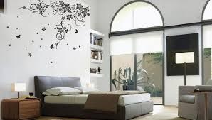 deco murale chambre déco décoration murale idée originale motif floral chambre