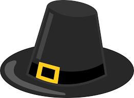 thanksgiving pilgrims clipart clipart pilgrim hat with black band
