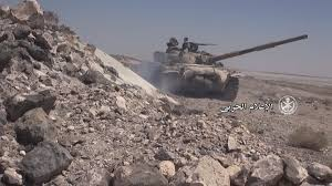 syrian desert video syrian tanks artillery wipe out us backed rebels in the