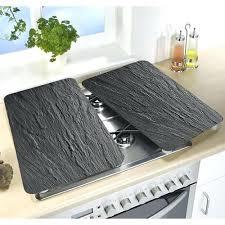 plaque cuisine protege plaque electrique cache plaque de cuisine cache plaque