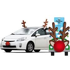 reindeer antlers for car spread some cheer with these rudolph the nosed