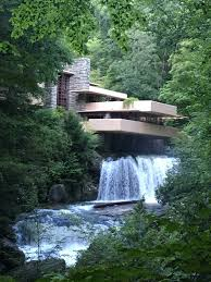 fallingwater got to tour fallingwater after everyone else left yesterday