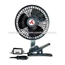 6 inch oscillating fan china 6 inch oscillating car fan with cl clip easy to install
