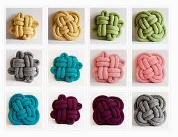 knot pillows inspiration and realisation diy fashion blog diy tubular machine