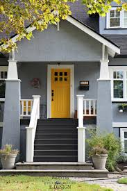 yellow front door exterior palette similar to sherwin williams rayo de sol yellow