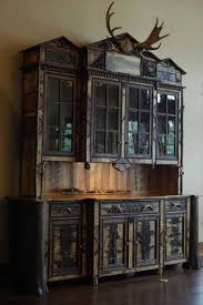 antique bar hutch apartment rustic inspirations with kitchen