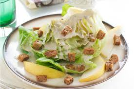bacon sunflower seeds butter lettuce wedges with sunflower seed dressing pears and