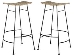 Used Furniture Sign Sea8005a Set2 Barstools Furniture By Safavieh