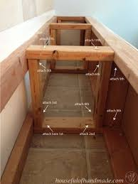 dining room storage bench 1000 images about new townhouse on