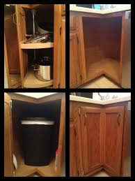 Under Cabinet Pull Out Trash Can Uncategories Under Sink Waste Basket Pull Out Waste Container