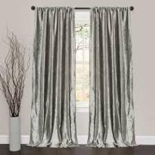 Silk Velvet Curtains A Pair Vintage Style Thick Eyelet Velvet Curtains 2x140cmx220cm