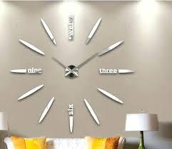 Giant Wall Clock Wall Clock Large Modern Wall Clocks Online White Minimalist