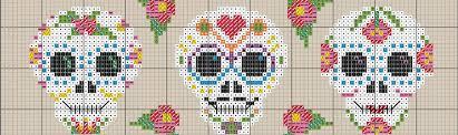 cross stitch patterns for a halloweenapalooza