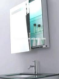 Illuminated Bathroom Mirrors With Shaver Socket Led Illuminated Bathroom Mirror Cabinet Shaver Socket Sensor