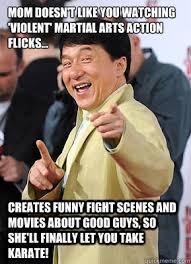 Jacki Chan Meme - good guy jackie chan memes quickmeme