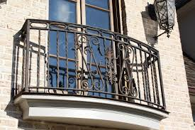 outdoor iron stair railing wrought handrails stairs hand metal