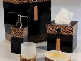 Zebra Themed Bathroom Bathroom Leopard Bathroom 37 Zebra Print Bathroom Set Walmart