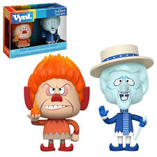 year without a santa claus heat and snow miser vynl 2 pack funko