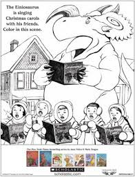how do dinosaurs say merry coloring sheet parents