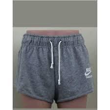 new nike track and field gray heather sweat shorts women u0027s size xl