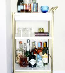 traditional unexpected use plus an ikea bar cart unexpected use in