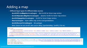 World Map Shapefile Esri by Developing Mobile Apps With The Arcgis Runtime Sdk For Net Ppt