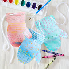 crayola blunt tip scissors mittens banners and craft