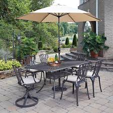 Patio Dining Sets With Umbrella Home Styles Athens Piece Patio Dining Set With Umbrella Pictures