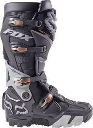 used motocross boots fox instinct offroad enduro motocross boots charcoal 1stmx co uk