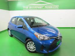 the sharpest rides blue toyota yaris in colorado for sale used cars on buysellsearch