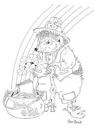the mitten coloring page 87 best hedgehogs images on pinterest colouring pages jan brett