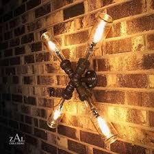 Plumbing Pipe Floor Lamp by Let U0027s Stay Cool Pipe Lighting Design