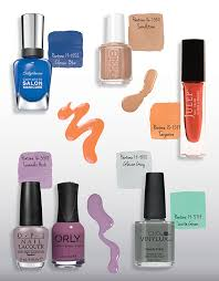 best spring nail polish colors pantone inspired