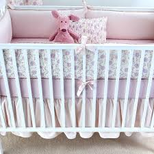 lilac arpege crib bedding set by elizabeth allen atelier