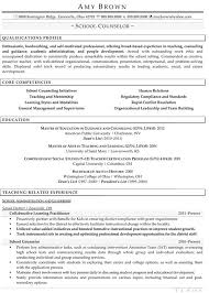 Resume Core Competencies List Education Resume Examples Resume Professional Writers