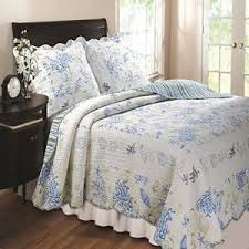 Blue And Coral Bedding Starfish Bedding And Quilt Sets Beachfront Decor