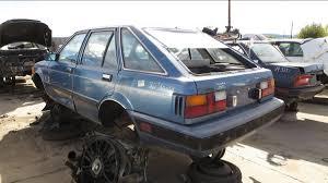 datsun renault junkyard treasure 1982 nissan stanza 5 door hatchback autoweek