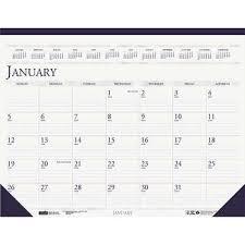 desk pad calendar 2017 2017 2018 house of doolittle academic 14 month desk pad calendar