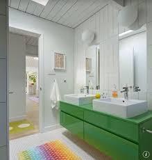 Contemporary Bathroom Wall Sconces Contemporary Full Bathroom With Wall Sconce U0026 Kids Bathroom