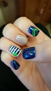 ready for super bowl 26 amazing football nail art designs